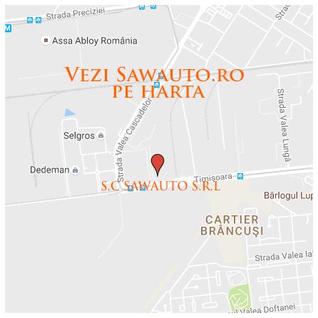 harta SawAuto.ro